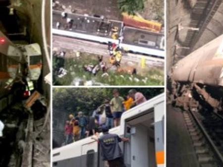 Black Friday : 50 Kills, Over 100 injure As Passenger Train That is Carrying 490 People Derail