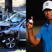Tiger Woods seriously injured in car accident