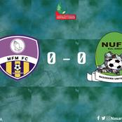 NPFL: MFM FC Beat Nasarawa United In Lagos
