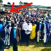 Hilarious Scene As Kericho 'Hustlers' And Priests Escort DP Ruto Side By Side [Video]