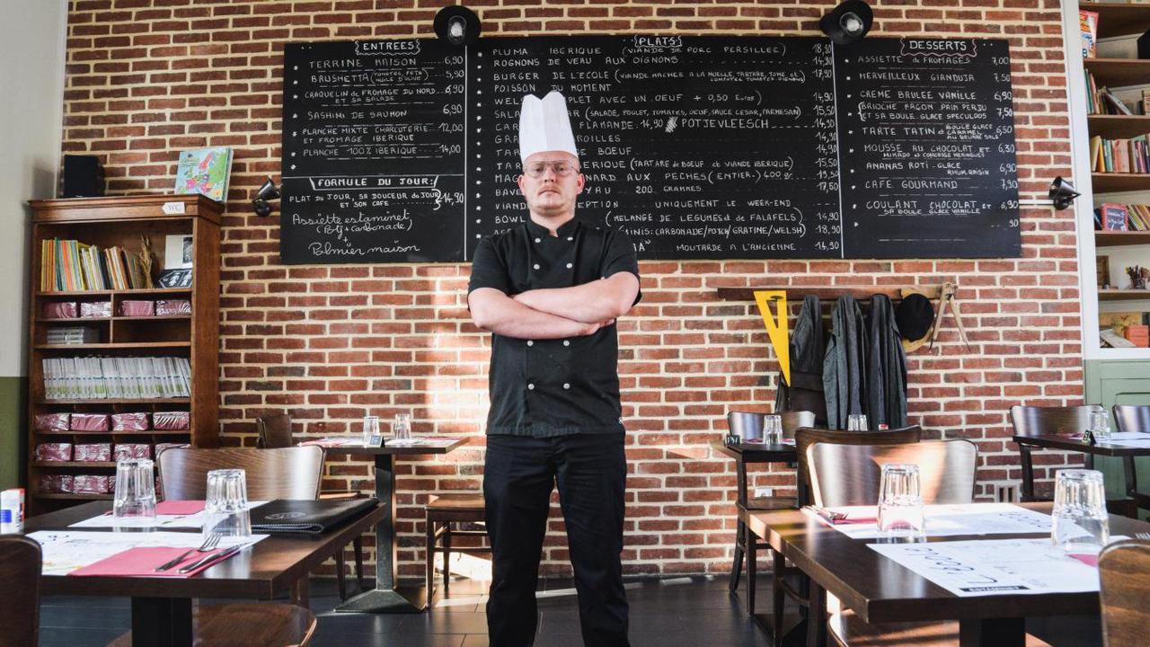 Le chef Yoan Dubois de l'estaminet l'École, à Phalempin, se dévoile pour le festival «Tous à table!»