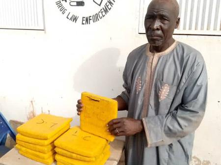 NDLEA Nabbed 70-year-old Man, Checkout What He Did (Photos)