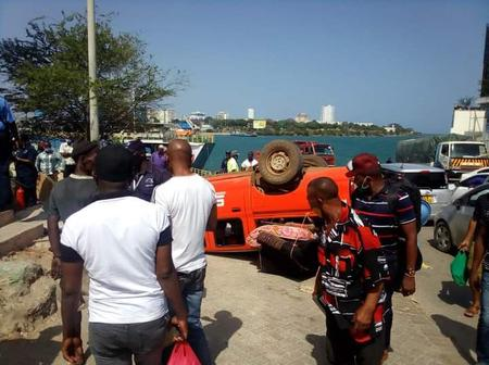 Another Accident at Kenya Ferry Hours After a Trailer Was Removed From The Ocean