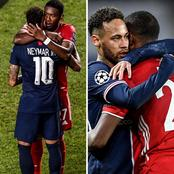UCL: See Photos Of Contrast Emotions As Neymar Help PSG To Qualify For UCL Semi Finals
