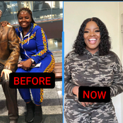 Lady Shares Pictures Of How She Changed After She Left Nigeria