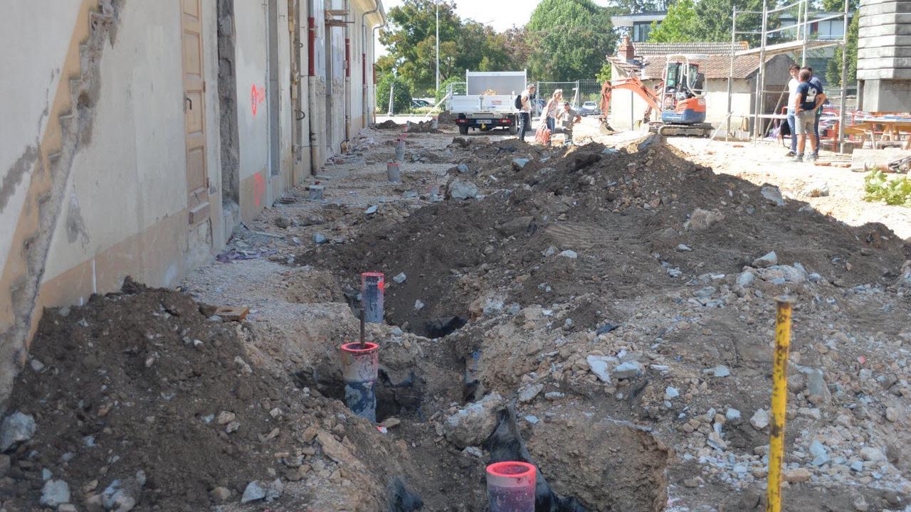 Les travaux d'extension de la salle Alfred-Jarreau continuent