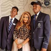 Zari And Her Son's Pictures in School Uniform That Will Melt Your Heart