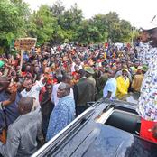 Chaos Erupt as Rowdy Youths Tried To Interrupt DP Ruto's Meeting In Murang'a County (Video)