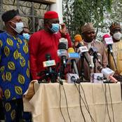 Check Out These Pictures As Fani Kayode Meet With Some PDP Leaders.