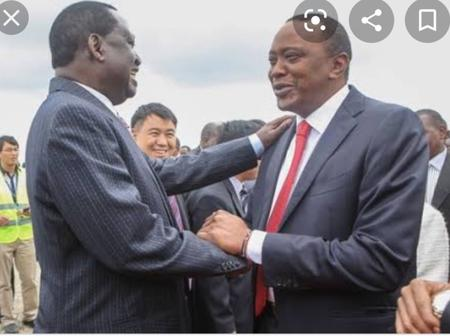 'The Kenyatta Family and the Odinga Family have Always been friends,