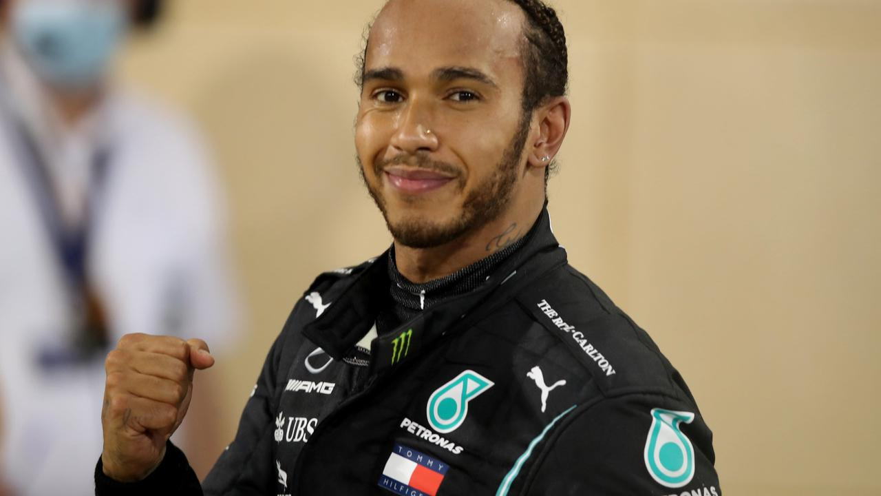 Hamilton makes diversity a priority as Mercedes shows off his new car