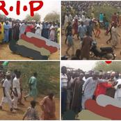 RIP: See The Burial Pictures Of The Innocent People Who Were Killed By Bandits In Sokoto