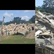 Church Building Collapsed On Members
