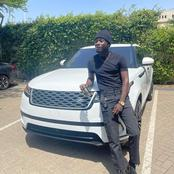 Kwami Eugene Grabs Brand New 2020 Range Rover Velar From Kweku Oteng As A Gift