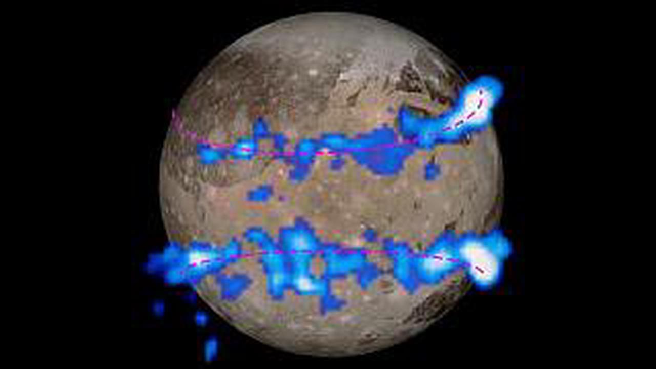 Ganymed überrascht: Wasserdampf in der Atmosphäre