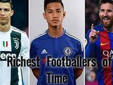 2021 Top 20 Richest Footballers In The World And Their Respective Awards