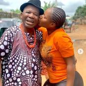 Check Out Pictures Of Destiny Ekiko With Some Nollywood Male Actors