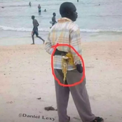 Check Out What A Man Was Caught Doing In Public That Caused Reactions