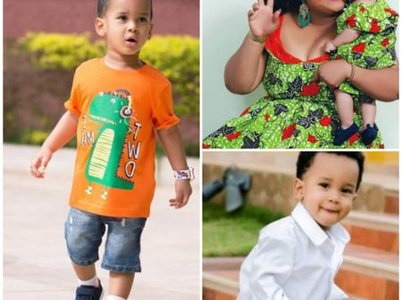 Pictures Of Actress Vivian Jill's Three Year Old Son Which Will Melt Your Heart
