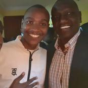 Stunning Throwback Photos Of Samidoh, His Mother And Rare Photo With William Ruto