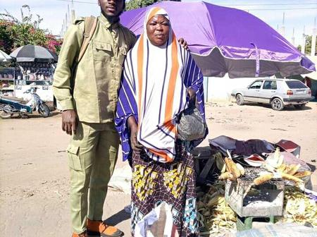 Kano Corper Who Helped A Local Maize Seller, Gets A Call From NYSC DG (Photos)