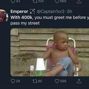 Check out what Twitter user's said about 400k salary