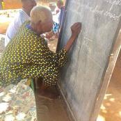 A 80 ans, il dispense des cours à ses petits-enfants. Un hommage rendu à nos anciens enseignants