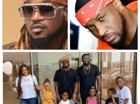 Where is Mr P's Kids? Fan Queries Rudeboy P-Square Who Posted His Kids and Jude's