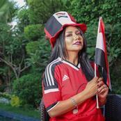 مش وقته يا مدام.. جماهير الأهلي تنتفض ضد رانيا يوسف بعد وصلة الرقص (صور)