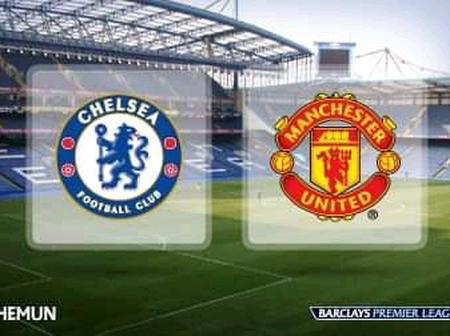 Manchester United To Face Chelsea This Weekend