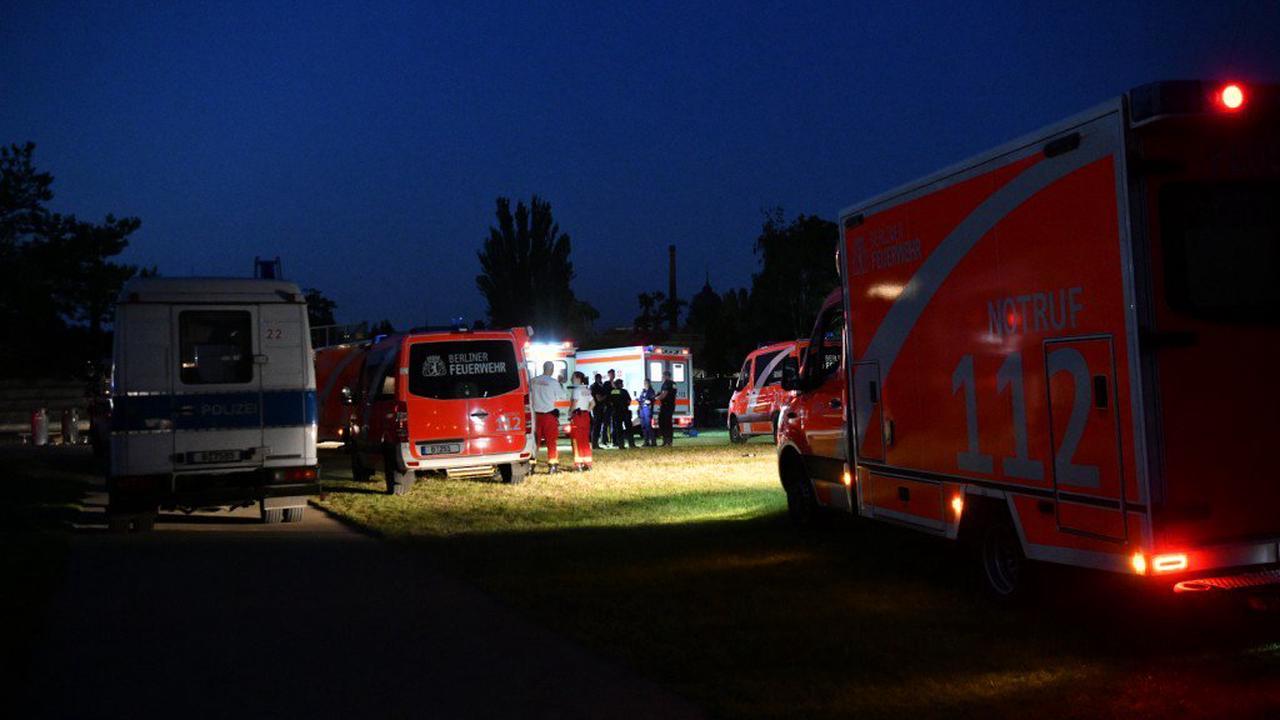 Mehrere Verletzte im Park am Gleisdreieck