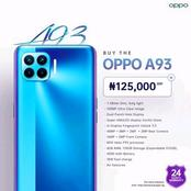 OPPO A93: 8GB RAM, 4000mAh Battery, Price, And Features.