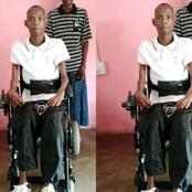I Quit Going To University After I Was Shot By Thieves & Got An Injury That Got Me Paralyzed - Boy