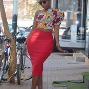 Fashion: 14 Stylish Ankara Off Shoulder Crop Tops To Rock