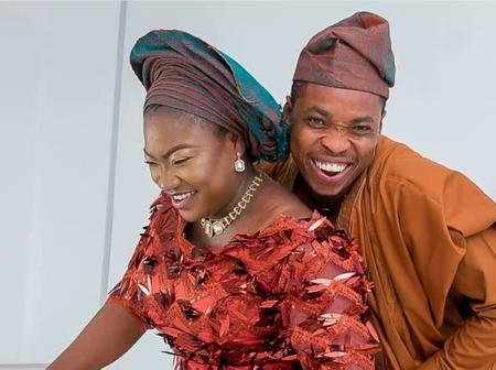Popular Comedian, Woli Agba, Celebrates Wedding Anniversary