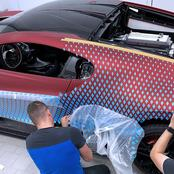 Photos Of The Bugatti Divo With a Paint Job So Complex It Took Almost Two Years to Finish