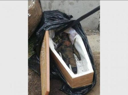 Boy cry loud to the elders to open his sister's coffin before burring, look what was inside(FICTION)