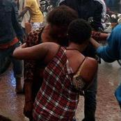 Drama As Lovemaking Workers Go Wild At Akure Market, Beat Up Man