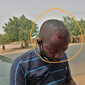See What Youths Reportedly Did To A Reporter Who Was Taking Reports On The Kidnapped School Girls In Zamfara.