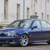 Met BMW M5 2001 the car that's not getting old and still powerful speed