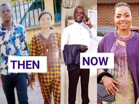 She Gave Me N75,000 To Buy Okada Because I Lied To Her That I Was Broke- Mr Mathias Celebrates Wife