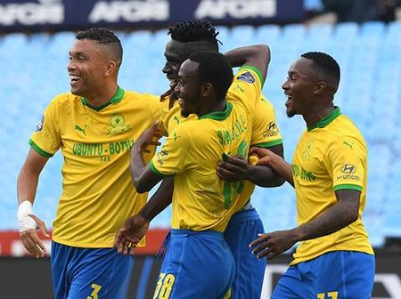 What a match: Mamelodi Sundowns made a History Today in CAF Champions League.