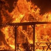 Students Burn Their School Dorm in a Mixed Secondary School
