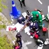 WATCH: Heartbreaking Video As Paramedics Tried To Resuscitate Nellie Tembe After Her Fall
