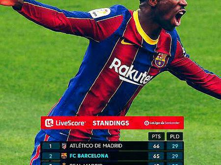 Can Barcelona continue their unbeaten run to win the Laliga title? See their next 9 fixtures