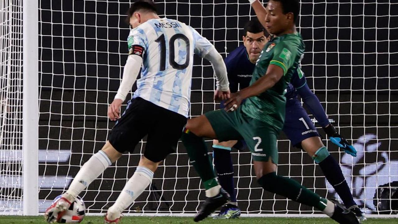 Messi breaks Pelé's record with a hat-trick as Argentina see off Bolivia -  Opera News