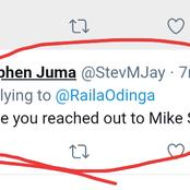 ' Have You Reached Out To Mike Sonko?' Raila Told After He Tweeted This