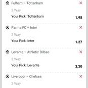 Best Of The Best Multi bets With GG,Over 2.5 Goals For Your Late Night Win