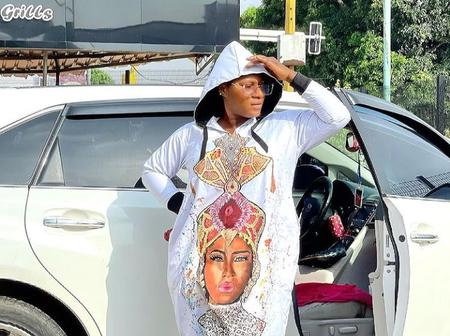Check Out The Customised Dress Destiny Etiko Is Rocking In Recent Photos
