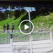 Watch: Be Careful When Walking In This Area, This Happened Today.
